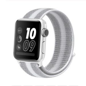 Accessories - *NEW White Stripe Sport Loop Strap For Apple Watch